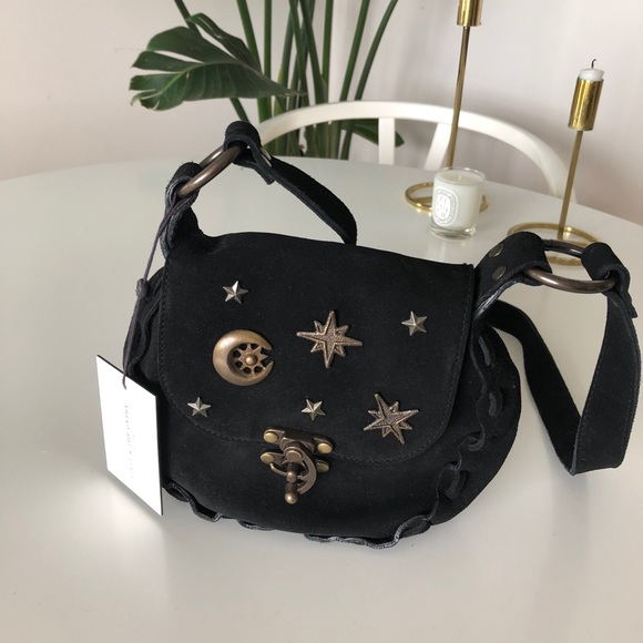 d73eea1967e Spell   The Gypsy celestial Leather crossbody bag